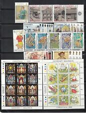 Guernsey Stamps 1987 -1994 sets & Miniature Sheets Multi listing your choice