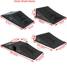 MINI LARGE SKATE RAMPS SKATEBOARD BMX SCOOTER DOUBLE RAMP 3 IN 1 PIECE FUN SPORT