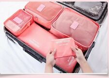 Travel Luggage Pouch Storage Bag Waterproof Laundry 6 PCS Storage Bags Organiser