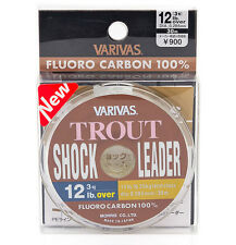 Varivas Trout Shock Leader Fluorocarbon Fishing Line 30m / 0.26-0.33mm (10-16lb)