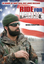 RIDE FOR LANCE - DVD - In Honor of Navy Seal Soc Lance Vaccaro - NEW! SEALED!