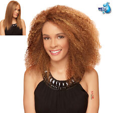 Zury Hollywood SIS 100% Remy Human Hair Wet & Wavy Lace Front Wig - HR MALAYSIAN
