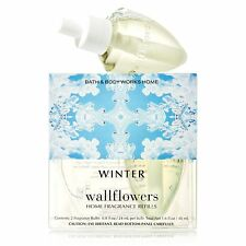 Bath and Body Works Winter Scented Wallflower Refill 2 Bulbs Pack Retired Scent
