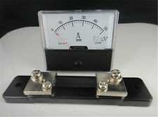 Analog Amp Panel Meter Current Ammeter From DC5A To DC 0-500A With/(out) Shunt