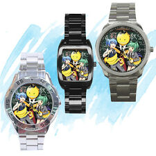 NEW Wrist Watch Stainless Sport Assassination Classroom Anime Manga *rare