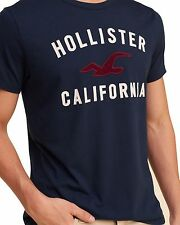 Hollister by Abercrombie Short sleeve TShirt Textured Logo Graphic T-Shirts Tee