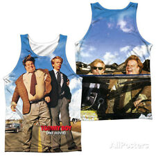 Tank Top: Tommy Boy- Poster (Front/Back) Apparel Tank Top - White