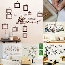 Family Tree Home Room Removable DIY Photo Frames Decor Wall Art Sticker Decals