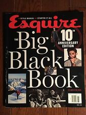 ESQUIRE ~ THE BIG BLACK BOOK FALL / WINTER 2016