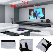 16:9 Unique KTV Projector Screen HD Movie Cinema Theater UC913 100/120/150""