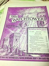 Pick a Watchtower Awake Consolation magazines -look great between your bookends