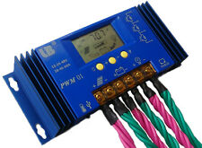 60A PWM Solar Battery Panel Charger Controller Regulator with LCD