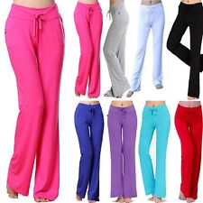 Women Comfy YOGA Pant Exercise Fitness Sport Trousers Running Athletic Pant -U36