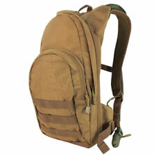 Condor Hydration Pack w/ 2.5L Water Bladder COYOTE BROWN Padded MOLLE Backpack