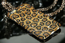 Bling Leopard Austria Diamond Crystal Case Cover Skin For iPhone 5s 7 6 6s Plus