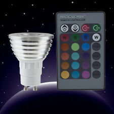 New Pro 5W E27 Multi Color Change RGB LED Light Bulb Lamp with Remote Control DP