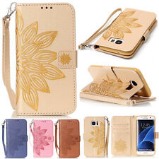 Wallet Magnetic Patterned Floral Flip Leather Stand Case Cover For Various Phone