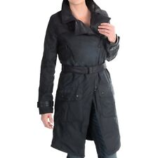 BARBOUR INTERNATIONAL Ladies' Shadow Waxed Cotton Trench Coat