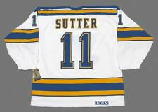 BRIAN SUTTER St. Louis Blues 1979 CCM Vintage Throwback NHL Hockey Jersey