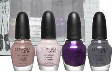 SEPHORA by OPI Urban Ballerina Collection Nail Polish Lacquer Limited 4 QVC SET