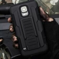 NEW Armor Heavy Rugged Hybrid Hard Case Belt Clip Stand Cover For Samsung Galaxy