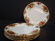 ROYAL ALBERT OLD COUNTRY ROSES 6 X TEA / SIDE PLATES 1ST QUALITY ENGLAND