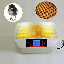 32Eggs Automatic Incubator Egg Hatching Birds Poultry Chiken Egg Turning Hatcher