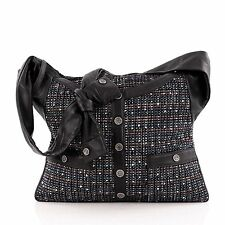 Chanel Girl Bag Tweed and Leather Medium