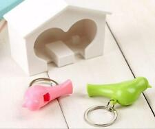 New Holder Key Ring Sparrow Lover 1 Pcs Birdhouse Wall Keychain Hook Gadget Home