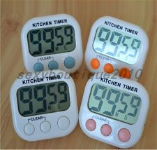 Home LCD Digital Kitchen Cooking Timer Count-Down Up Clock Loud Alarm Magnetic