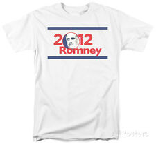 Mitt Romney - 2012 Romney Apparel T-Shirt - White