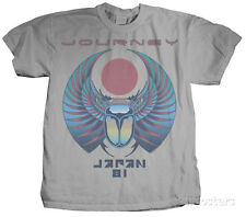 Journey - Japan 81 Apparel T-Shirt - Silver