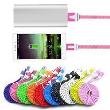 Hot 3M Braided USB 3.1 Type-C Charger Cable Data Sync Cord For Nexus 5X/6P lot D