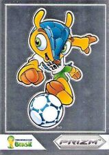 2014 Panini Prizm World Cup Brasil - Brazil '14 'Fuleco' Mascot Card Variations