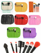 7pcs Makeup Brush foundation,eyeshadow/brow travel pouch fastfree ship US seller