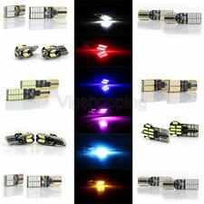 2x LED Lamp Bulbs Car License Plate Lights T10 5730-8SMD/4014-14SMD/4014-24SMD
