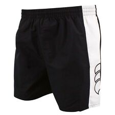 CANTERBURY PANELLED TACTIC MENS SHORTS WITH HAND POCKETS - Black Navy S M L 2XL