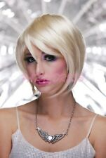 Ladies Fancy Dress Costume Wig - Blonde Bob Party Wig (0192)