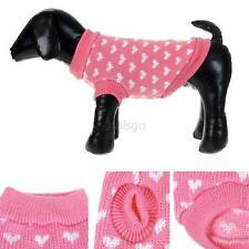 Winter Small Dog Pet Puppy Cat Warm Sweater Clothes Knit Coat Apparel Costumes