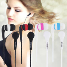 New  3.5mm In-ear Stereo Earbuds Earphone Headset Without MIC For Phones lot DP