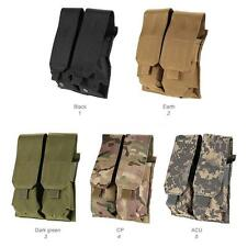 Tactical Rifle Double Magazine Pouch Pistol Mag Pouch 600D Fabric Pouch G3B0