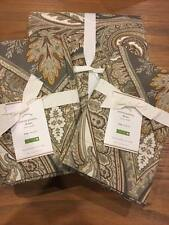 New Pottery Barn Gray Grey Anton Paisley Full / Queen Duvet Cover Only Christmas