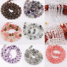 1String Crystal Round Mixed Spacer Bead Bracelet DIY Craft 4mm/6mm/8mm/12mm