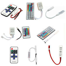 For 3528 5050 RGB LED Strip Light 3/10/24/44 Key IR Remote Wireless Controller #