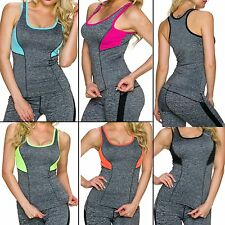 Top Sports Tank Fitness Ladies Functional Shirt 34 36 Melange Leisure Work out