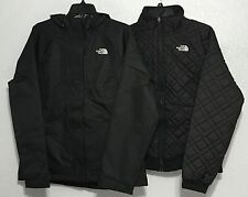 The North Face Women Quilted Penny Triclimate 3 in 1 HyVent Jacket Snow Ski New!
