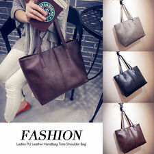 Fashion Ladies PU Leather Handbag Tote Women Shoulder Bag - Free Shipping