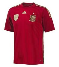 ADIDAS SPAIN HOME JERSEY FIFA WORLD CUP BRAZIL 2014.