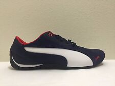 PUMA DRIFT CAT 5 NM2 Suede Leather Shoes Sneakers 305703 06 BLUE-WHITE
