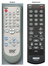 Original DTV Sylvania/GFM NF600UD Replacement TV Remote Control by Anderic